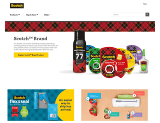 scotchbrand.com screenshot
