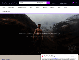 scotclans.com screenshot
