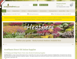 scotplantsdirect.co.uk screenshot