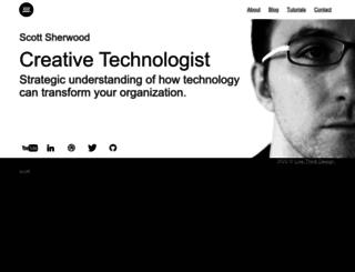 scott-sherwood.com screenshot