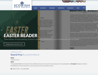 scottishbiblesociety.org screenshot