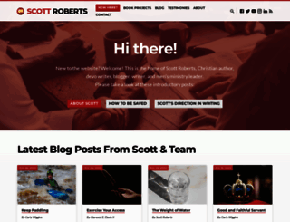 scottrobertsweb.com screenshot