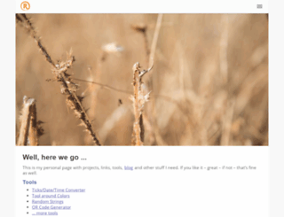 scotttyew.hazblog.com screenshot