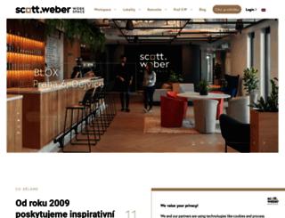 scottweber.cz screenshot