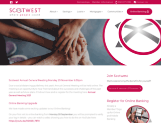 scotwest.co.uk screenshot