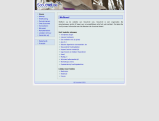 scoutnet.be screenshot
