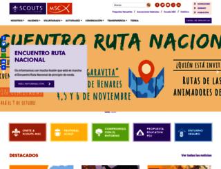 scouts.es screenshot