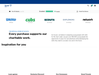 scoutshops.com screenshot