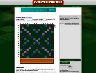 scrabulizer.com screenshot