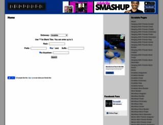 scraddle.com screenshot