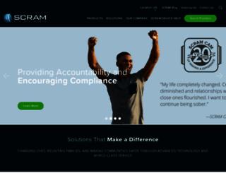 scramsystems.com screenshot