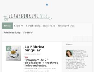 scrapbookingweb.net screenshot