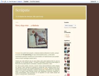 scrapbotiga.blogspot.com.es screenshot