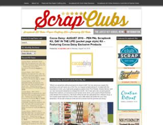 scrapclubs.com screenshot