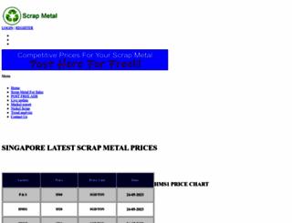 scrapmetal.sg screenshot