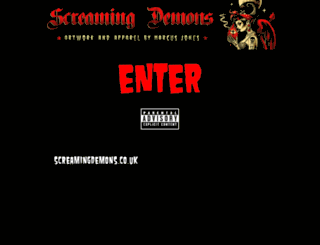 screamingdemons.co.uk screenshot