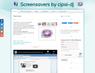 screensavers-by-cipsi-dj.webs.com screenshot