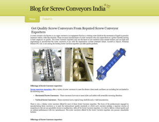 screwconveyors.yolasite.com screenshot