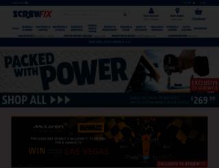 screwfix.com screenshot