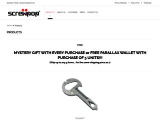 screwpoptool.com screenshot