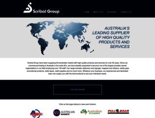 scribal.com.au screenshot