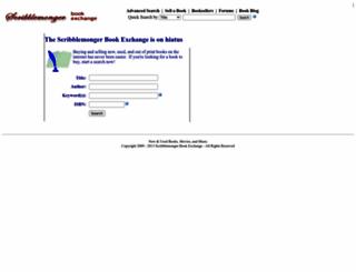 scribblemonger.com screenshot