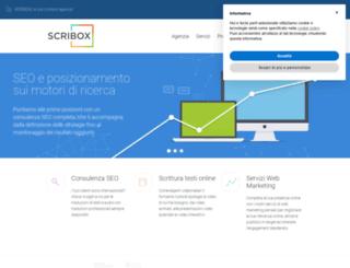 scribox.it screenshot