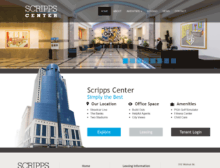 scrippscenter.com screenshot