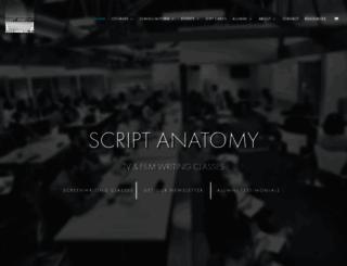 scriptanatomy.com screenshot
