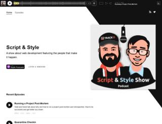 scriptandstyle.com screenshot