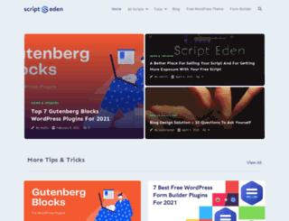 scripteden.com screenshot