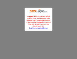 scriptedovations.com screenshot