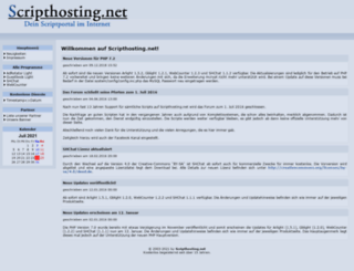 scripthosting.net screenshot