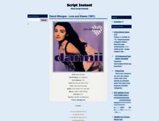 scriptinstant.blogspot.com screenshot