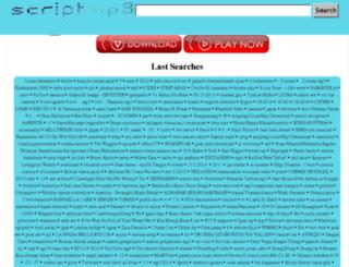scriptmp3.com screenshot