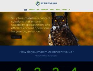 scriptorium.com screenshot