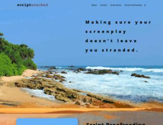 scriptwrecked.com screenshot