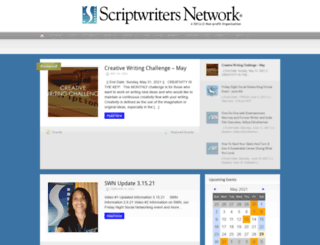 scriptwritersnetwork.com screenshot