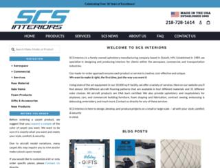 scs-interiors.com screenshot