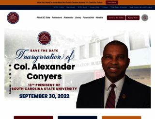 scsu.edu screenshot