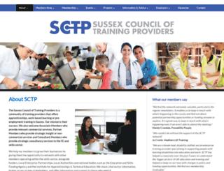 sctp.org.uk screenshot