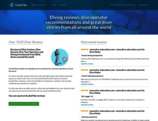 scubatribe.com screenshot