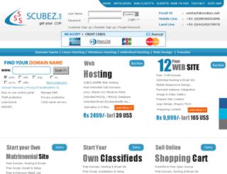 scubez.net screenshot
