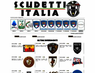 scudettitalia.altervista.org screenshot