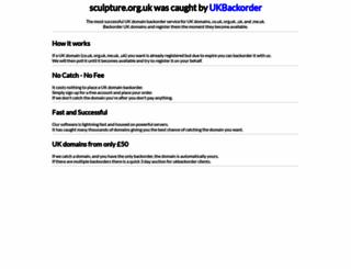 sculpture.org.uk screenshot