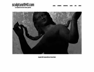 sculpture1940.com screenshot