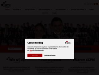 scvm.nl screenshot
