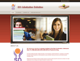 sdadmissionsolution.weebly.com screenshot