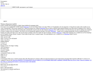 sddev.unicommerce.com screenshot