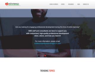 sde-events.com screenshot